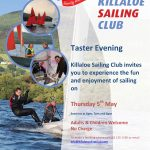 Taster Evening Thursday 5th May